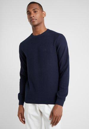 RASHA - Stickad tröja - navy