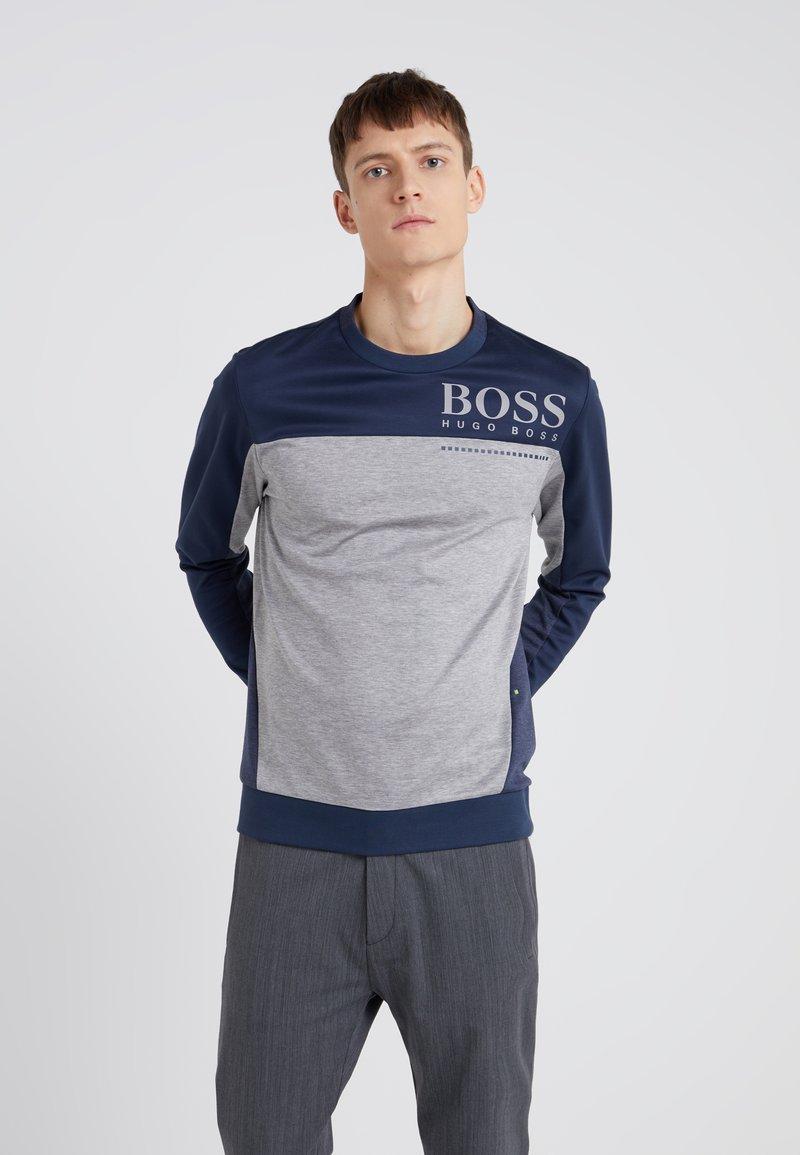 BOSS - SALTECH - Pitkähihainen paita - navy