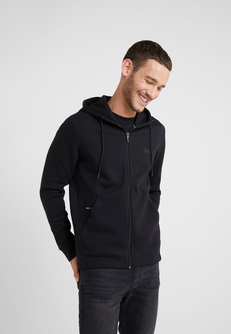 BOSS - SAGGY  - Zip-up hoodie - black