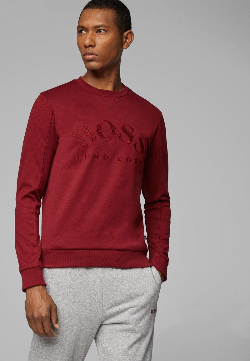 BOSS - SALBO 10217264 01 - Sweater - dark pink