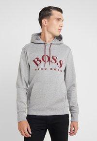 BOSS - SOODY - Jersey con capucha - grey - 0