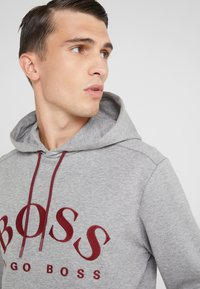 BOSS - SOODY - Jersey con capucha - grey - 3