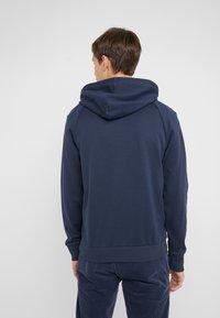 BOSS - SOODY - Bluza z kapturem - blue/silver - 2