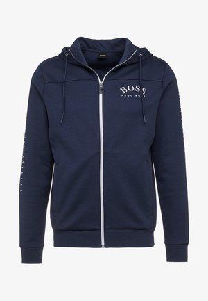 SAGGY WIN - Zip-up hoodie - blue/silver