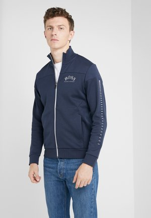SKAZ WIN - veste en sweat zippée - blue/silver