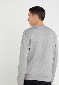BOSS - SALBO  - Top sdlouhým rukávem - grey melange - 2