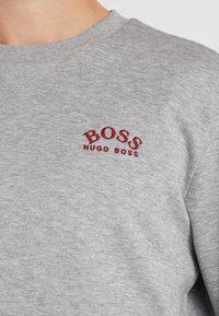 BOSS - SALBO  - Top sdlouhým rukávem - grey melange - 6