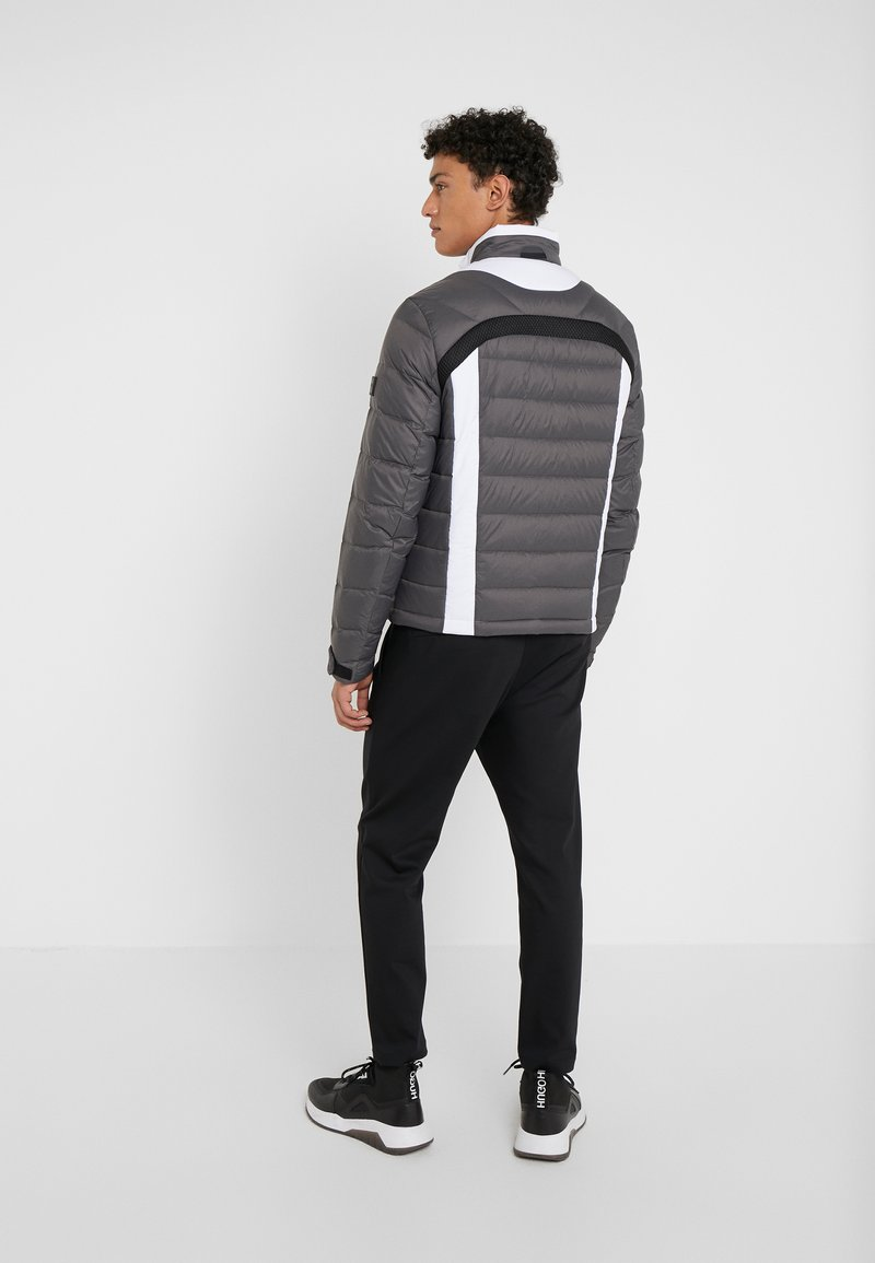 BOSS - SARITO - Daunenjacke - grey/white