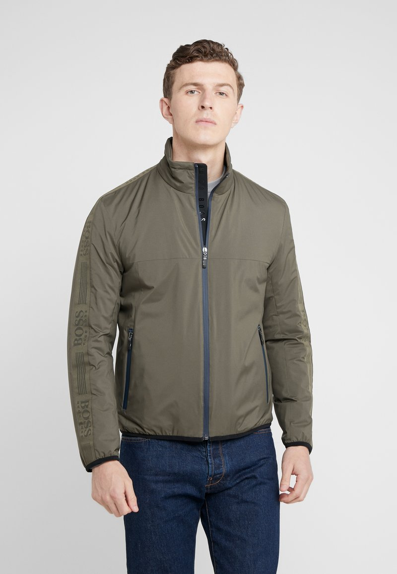 BOSS - TAPED - Light jacket - oliv