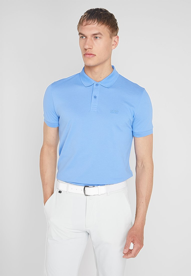 BOSS - PIRO - Polo - light blue
