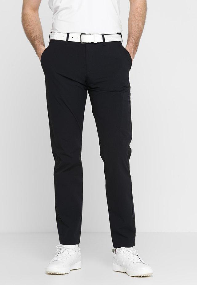 HALLFORS - Kalhoty - black