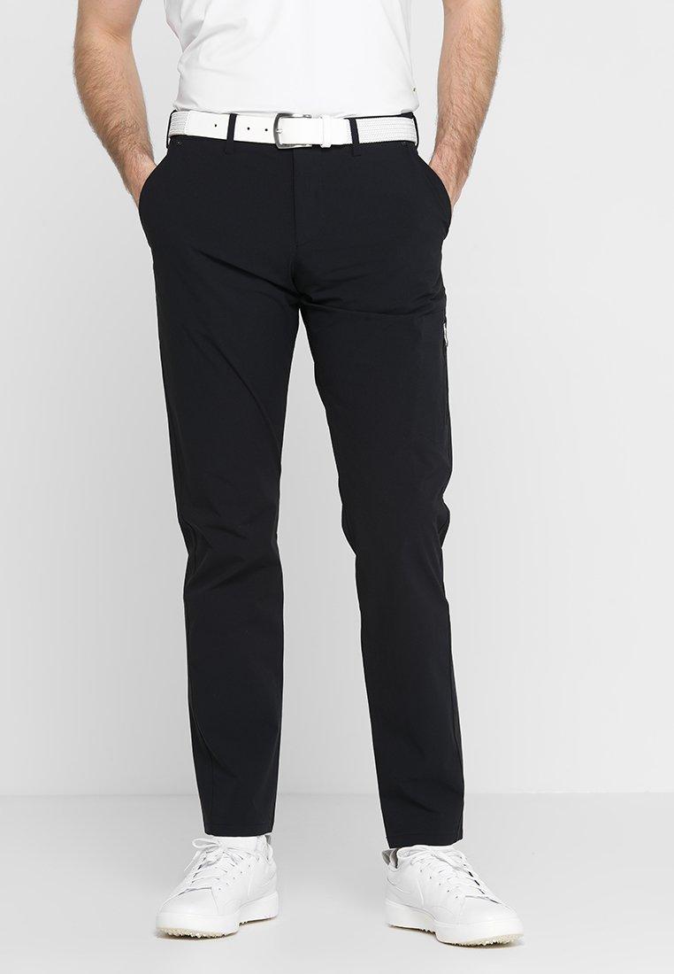BOSS - HALLFORS - Trousers - black