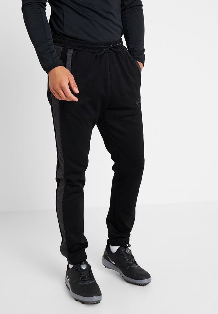 BOSS - HADIKO - Tracksuit bottoms - black