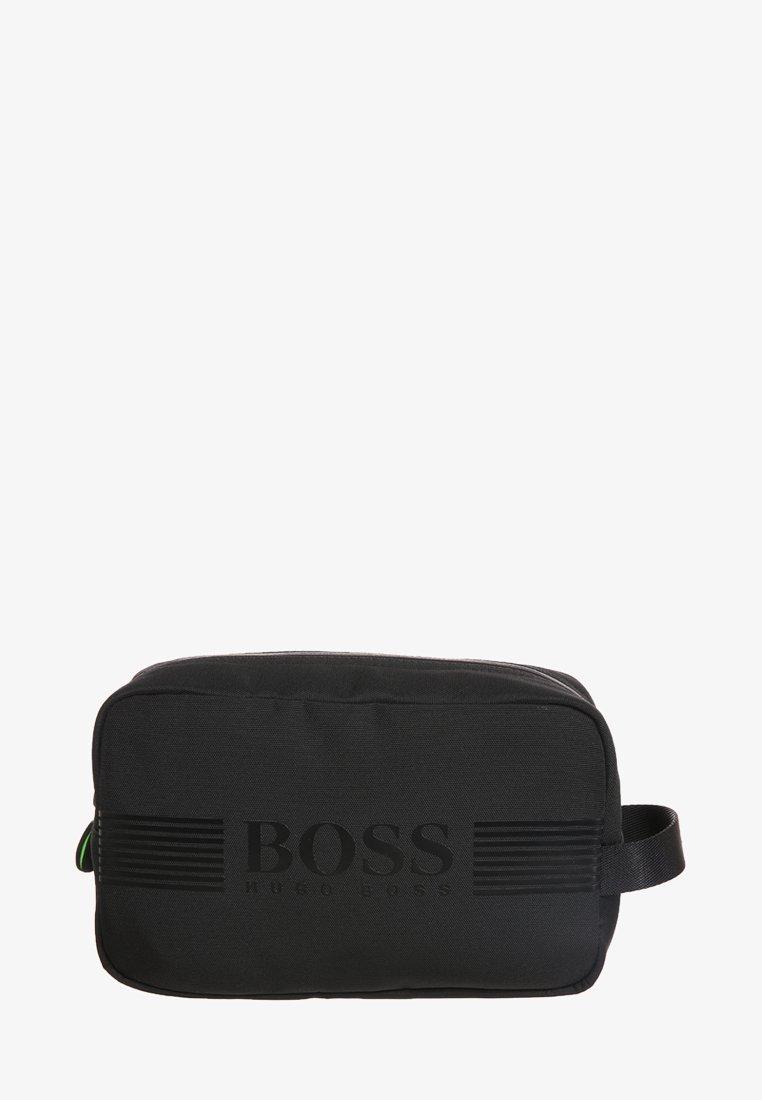 BOSS - PIXEL WASHBAG - Wash bag - black