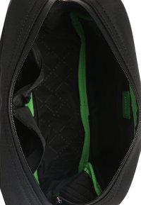 BOSS - PIXEL WASHBAG - Wash bag - black - 4