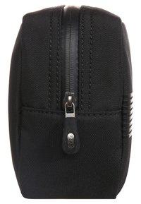 BOSS - PIXEL WASHBAG - Wash bag - black - 2