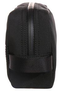 BOSS - PIXEL WASHBAG - Wash bag - black - 3