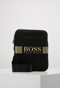 BOSS - PIXEL ZIP - Across body bag - black - 0