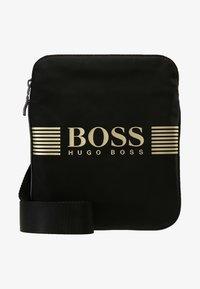 BOSS - PIXEL ZIP - Across body bag - black - 5