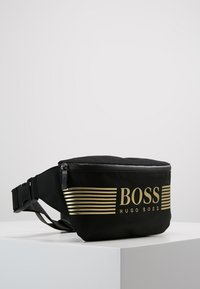 BOSS - PIXEL WAIST BAG - Sac banane - black - 3
