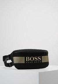 BOSS - PIXEL WAIST BAG - Sac banane - black - 0