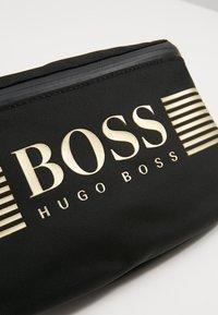 BOSS - PIXEL WAIST BAG - Sac banane - black - 6