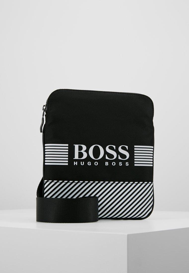 BOSS - PIXEL ZIP - Borsa a tracolla - black