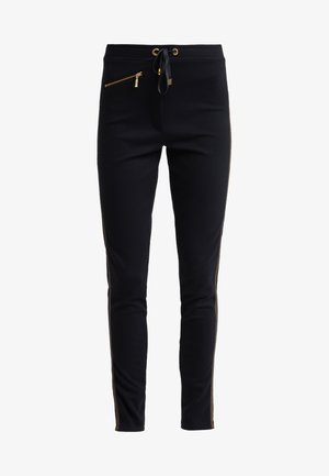 TRACK TROUSER - Tracksuit bottoms - black