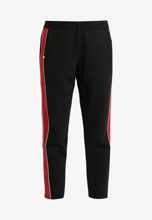 SPRINTER TROUSER - Tracksuit bottoms - black/rhubarb