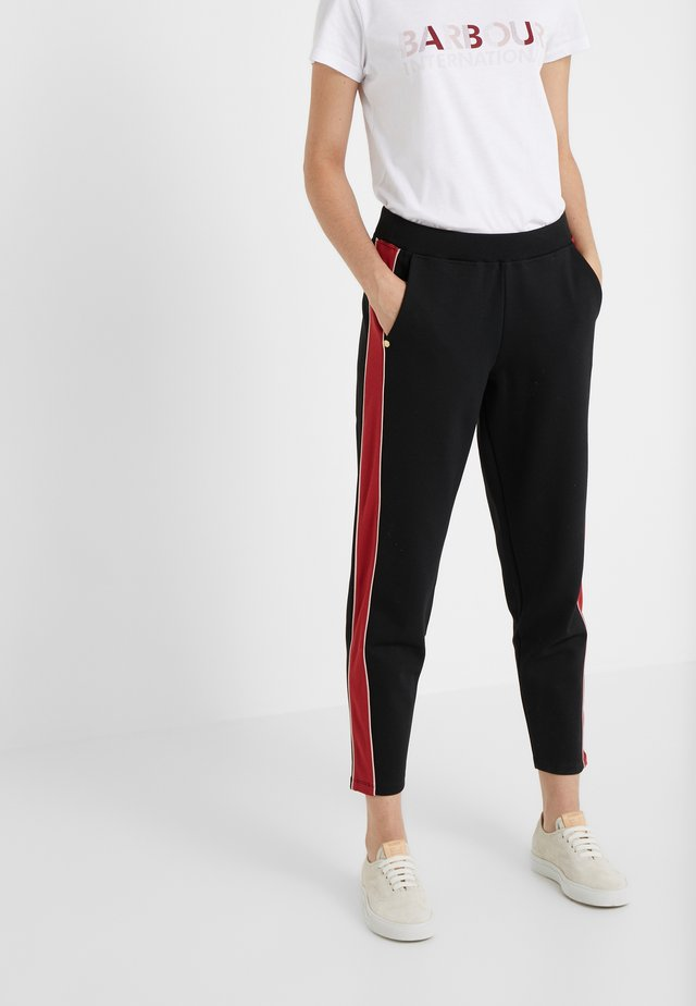 SPRINTER TROUSER - Jogginghose - black/rhubarb