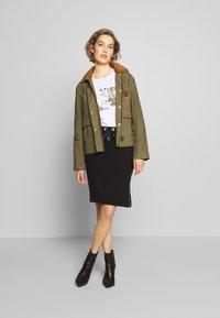 Barbour International - ARENA SKIRT - Pencil skirt - black - 1
