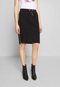 Barbour International - ARENA SKIRT - Pencil skirt - black - 0