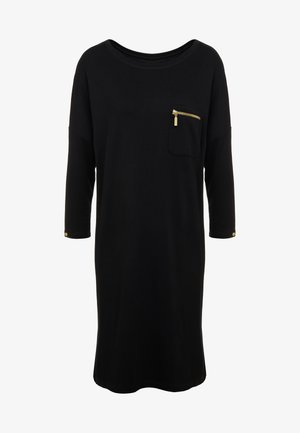 CIRCUIT DRESS - Robe en jersey - black