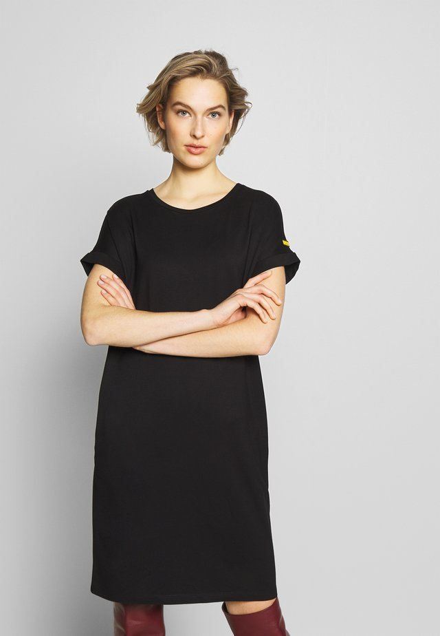 HURDLE DRESS - Jersey dress - black
