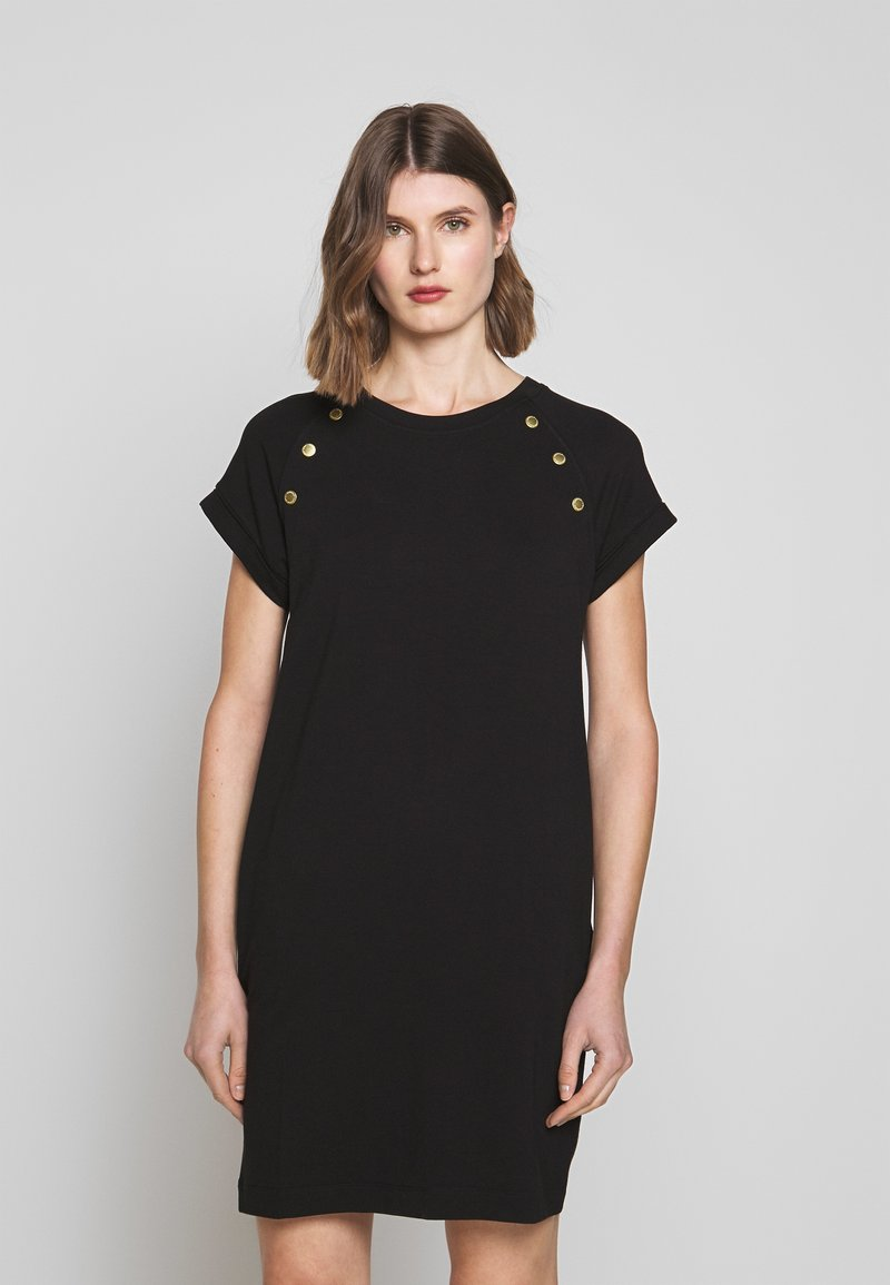 Barbour International - HURRICANE DRESS - Jersey dress - black