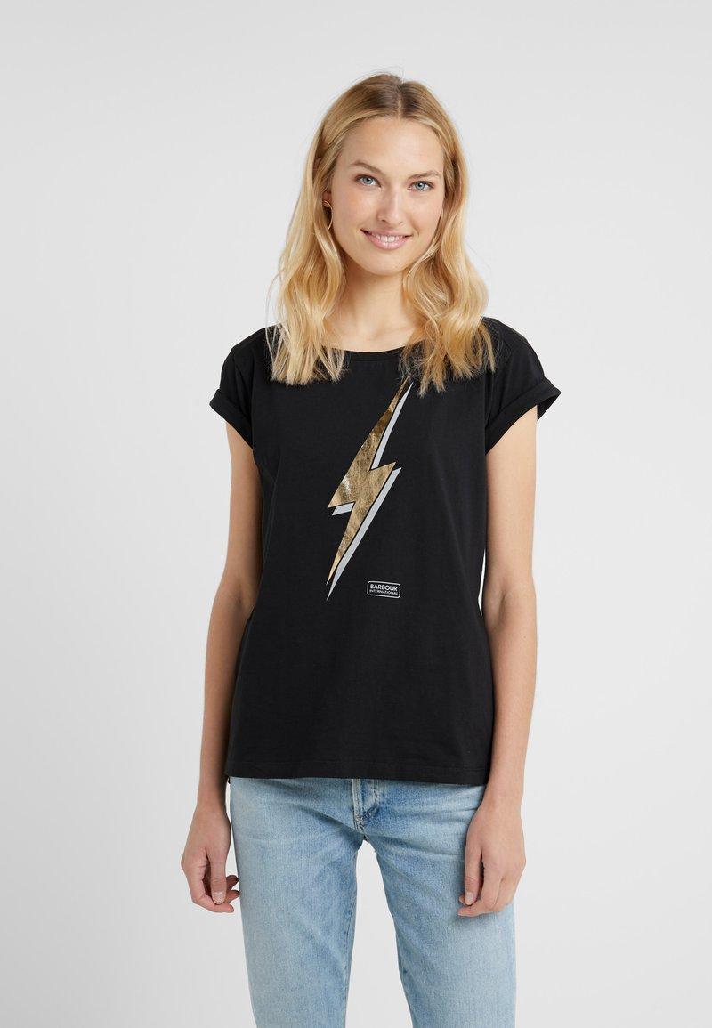 Barbour International - VERBIER TEE - T-Shirt print - black