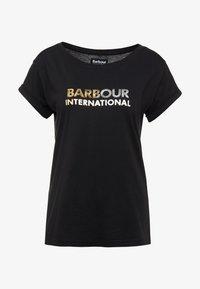 Barbour International - DORAN TEE - Print T-shirt - black - 3