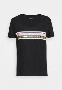 Barbour International - LIGHTNING TEE - Print T-shirt - black - 4