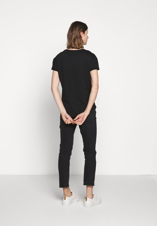 SPITFIRE TEE - T-shirt imprimé - black