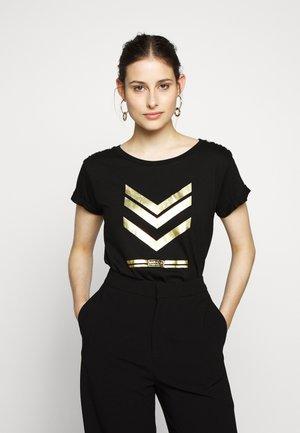 SCORPION TEE - Print T-shirt - black