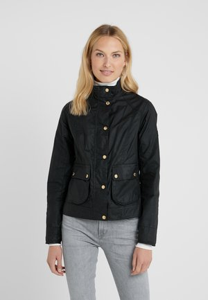 LIVINGO - Summer jacket - black