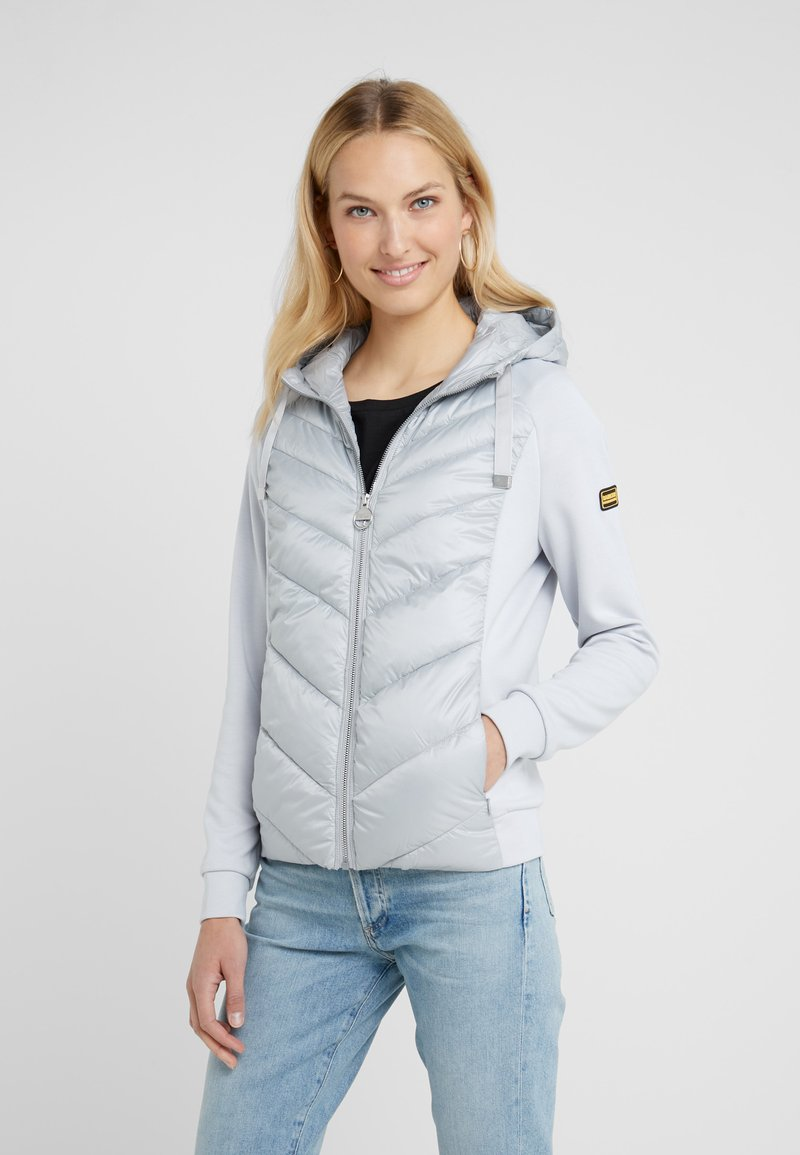 Barbour International - ENGELBERG OVERLAYER - Übergangsjacke - ice white