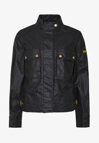 Barbour International - TRACKRACE CASUAL - Summer jacket - black - 4