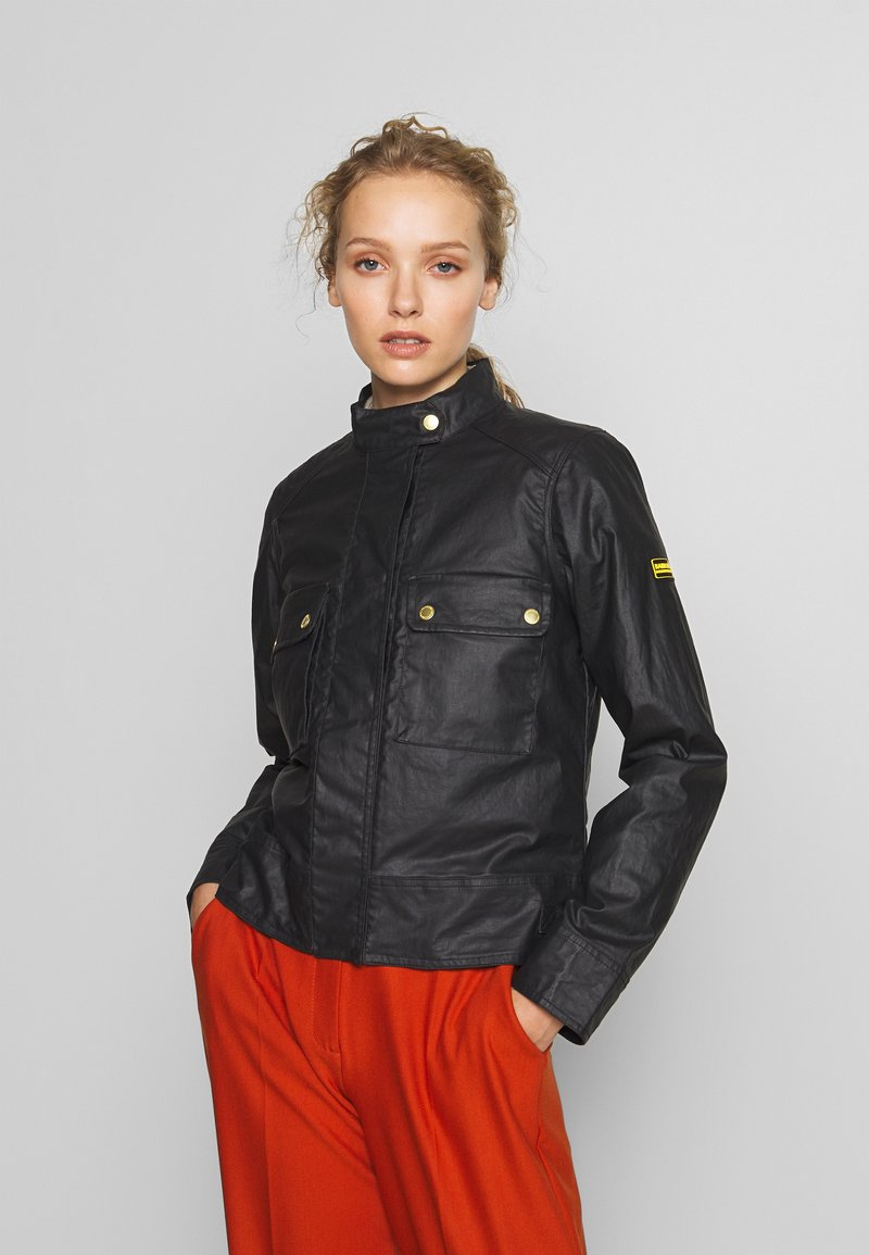 Barbour International - TRACKRACE CASUAL - Summer jacket - black