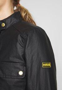 Barbour International - TRACKRACE CASUAL - Summer jacket - black - 5