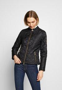 Barbour International - FREETHROW QUILT - Light jacket - black - 0