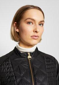 Barbour International - FREETHROW QUILT - Light jacket - black - 4