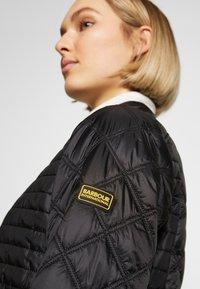 Barbour International - FREETHROW QUILT - Light jacket - black - 3