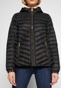 Barbour International - RINGSIDE QUILT - Light jacket - black - 3