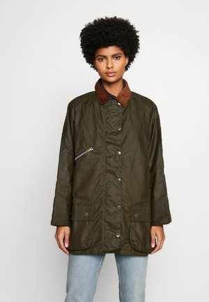 BARBOUR EDITH WAX - Outdoor jacket - archive olive/ancient